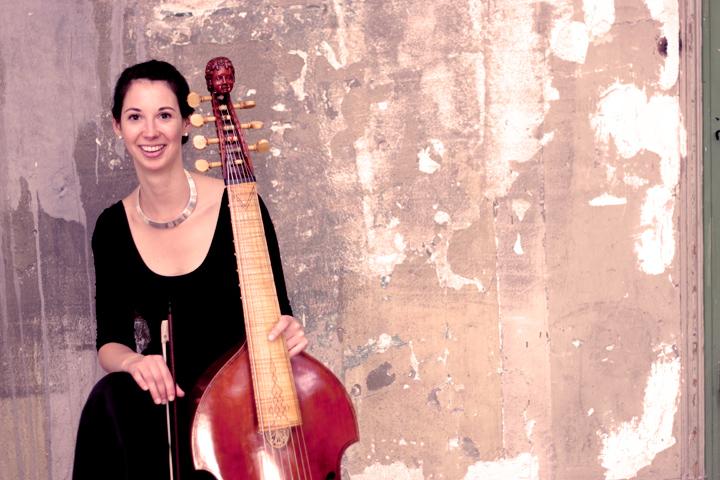 Anna Zimre, Barockcello, Viola da Gamba